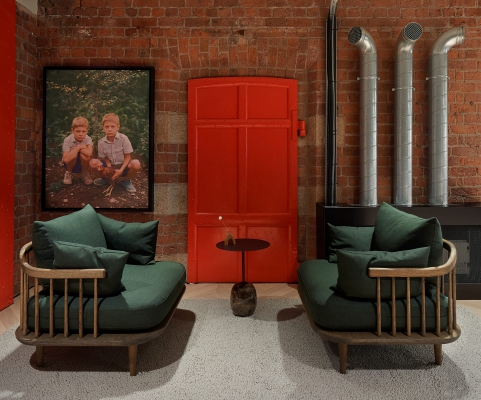 Taylor Wessing new office interiors at Royal Albert Dock, Liverpool, Merseyside.       One free editorial reproduction only within context of accompanying press release.